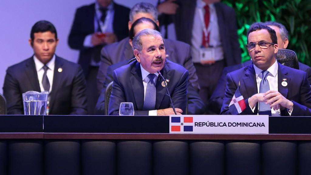 Presidente Medina regresa a RD tras participar en cumbre CELAC, Costa Rica