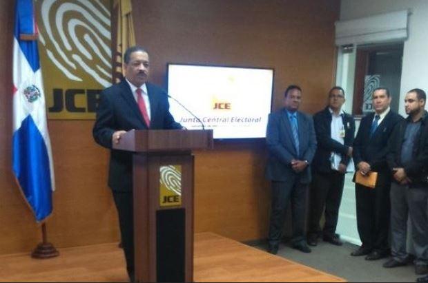 JCE anuncia calendario regresivo para Elecciones del 2016