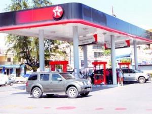 Efecto. : Las gasolinas volvieron a subir ayer.