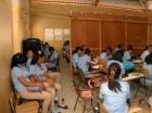 Limitaciones.: Pese a las dificultades, los estudiantes asisten a clases.