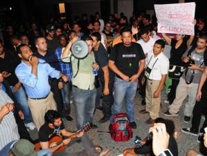 Los agentes han tenido que enfrentar varias manifestaciones.