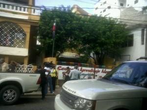 El hecho ocurrió en la avenida en el sector Evaristo Moroles.