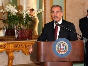 El presidente de la República, Danilo Medina Sánchez.