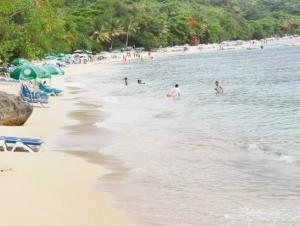 Las playa son el principal atractivo del municipio Sosúa.