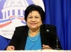 Ligia Amada Melo, ministra de Educación Superior.