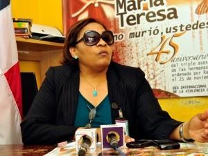 La abogada del Ministerio de la Mujer en Constanza, Juana María Castillo, escuchó  el testimonio de algunas de las víctimas de violación del sacerdote.