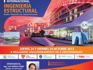 Primer congreso internacional sobre Ingeniería Estructural.