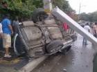 El accidente ocurrió en la avenida Jacobo Majluta.