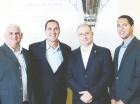 Sergio López, Art Torno, Oliver Bojos y Héctor Martínez.