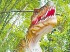 Los niños observarán dinosaurios animatrónicos y fósiles.