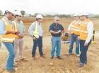 El ministro de Obras Públicas supervisó los trabajos.