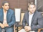 Rafael Uribe y Eduardo Najri ven un futuro promisorio en el basket criollo.
