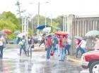 Fuertes lluvias han causado desplazamientos en zonas más vulnerables.