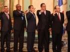 Nuevos funcionarios son juramentados por el presidente Danilo Medina.