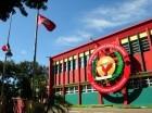 El presidente Medina y otros líderes del país lamentaron el fallecimiento del exvicepresidente y excanciller. Las bandera nacional y del PRSC ondean en el local del partido reformista.