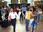 Llegada de pasajeros al Aeropuerto Internacional de Las Américas (AILA).