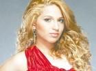 La cantante dominicana  Giselle Taveras.