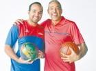 Frank Prats (derecha) junto a su hijo Alejandro Prats.