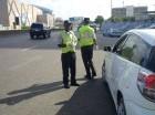 Los conductores fueron sorprendidos por la Amet en su mayoría en distintas intersecciones del Gran Santo Domingo.