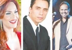 La presentadora y actriz Georgina Duluc, Antony Álvarez regresa al cine nacional y Frank Ceara busca un regreso triunfal. (Fuente Externa)