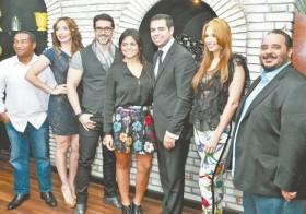 Manolo Ozuna, Miralba Ruiz, Joseguillermo Cortines, Stephanie Fatule, Roberto Angel Salcedo, Hony Estrella y Freddyn Beras