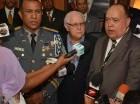 El mayor general (r) Rafael del Socorro Payán, habló a nombre de los oficiales.