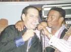 Fernando Villalona y Anthony Santos.
