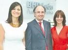 Lexy Collado, Diego Torres y Wendy Salcedo.