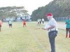 Alberto Benaiges supervisa los entrenamientos del Cibao FC de Santiago.