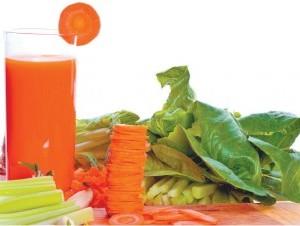 Los  zumos de vegetales resultan ideales cuando se realizan dietas especiales.