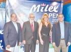 Roberto Rizik, Persio Maldonado, Laura Fernández y Raúl Rizik.