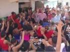 Víctor – Ito – Bisonó durante juramentación en los sectores Cristo Rey, Ensanche la Fe, Villa Consuelo, Mejoramiento Social y los Guandules del las Cir 2, 3 del Distrito Nacional.