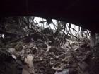 En esta imagen tomada el 21 de enero de 2015, el aeropuerto destruido de Donetsk, en el este de Ucrania. Las btallas por el control del aeopuerto, al norte del bastión separatista de Donetsk, se intensificaron esta semana y los rebeldes con apoyo ruso to