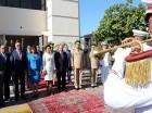 El presidente Danilo Medina acudió acompañado a los actos acompañado por su esposa, Cándida Montilla de Medina.