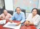 Los dirigentes de ADP piden el Inabima reconozca todas las cotizaciones.