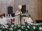 Cardenal Nicolás de Jesús López Rodríguez, ofició un Te Deum en la Catedral Primada de América.