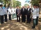 Durante el acto en honor a Juan Pablo Duarte por parte de la Embajada de RD en Paraguay.
