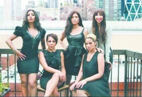 Dasha Polanco, Jessica Pimentel, Selenis Leyva, Jackie Cruz y Laura Gómez