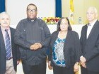 Enrique Luis Velasco, Padre Jesús Castro Marte, Zeneyda de Jesús Contreras y Eduardo Ventura.