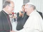 Masalles junto al Papa.