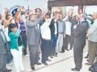 Luis Abinader juramenta a dirigentes de Santo Domingo Norte.