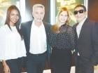 Laura Guerra, Jorge Luis Ramos, Nathaly García y Vicente Castro.