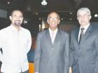 Arturo Porro, Juan Guillot Caba y Franklin Núñez.