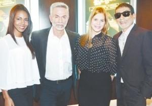 Laura Guerra, Jorge Luis Ramos, Nathaly García y Vicente Castro. (Fuente Externa)