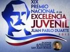 Premio a la  Excelencia Juvenil Juan Pablo Duarte 2015 (PNJ).