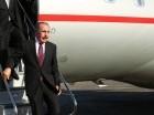 El presidente Danilo Medina al regresar de Costa Rica.