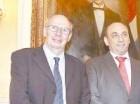 Representantes del PMA en Palacio.